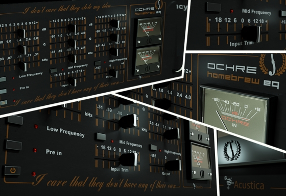 Acustica Audio Ochre EQ v1.3.965 WIN/MAC